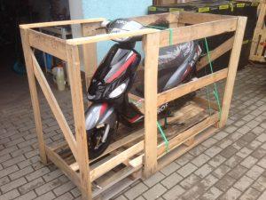 transporte de motos en furgoneta