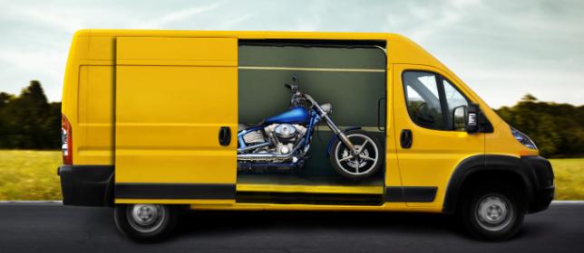 Precio del transporte de motos