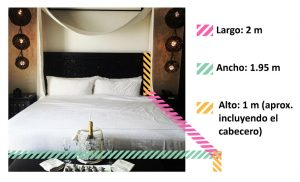transporte cama king size