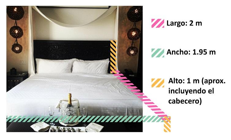 transporte cama king size