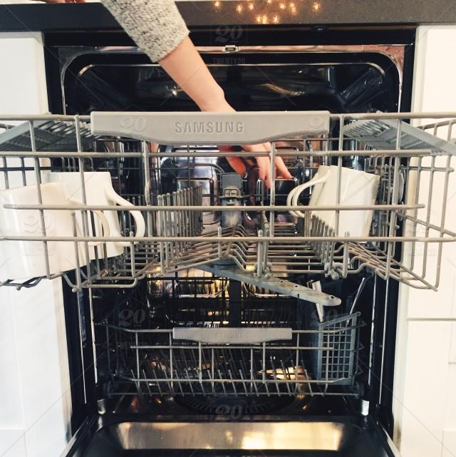 transporte de un lavavajillas