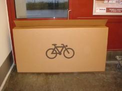 transporte de una bici