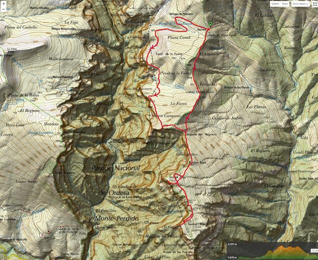 mapa sestrales