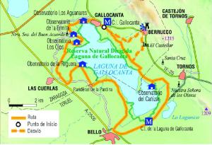 mapa gallocanta