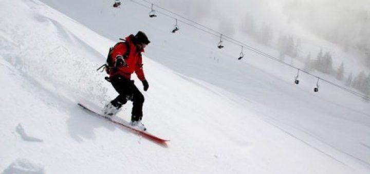 transporte tablas de snow