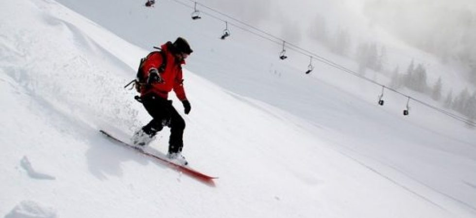 transporte tablas de snow