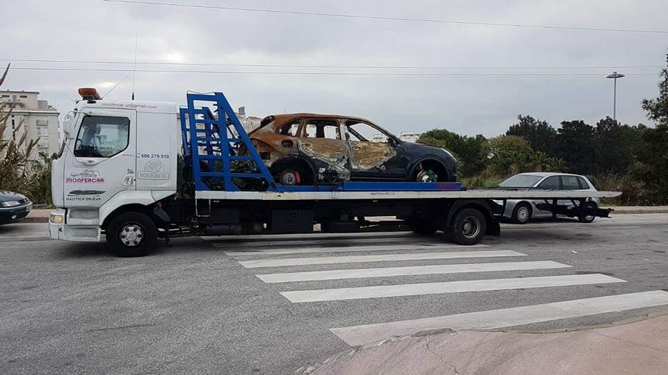 transporte vehículos siniestrados