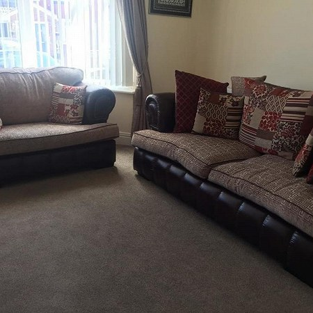 sofa 2 seater and 3seaters