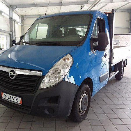 RENAULT MASTER SKRZYNIOWY L2H1